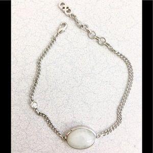 Gorgeous Cole Haan Quartz and crystal bracelet!
